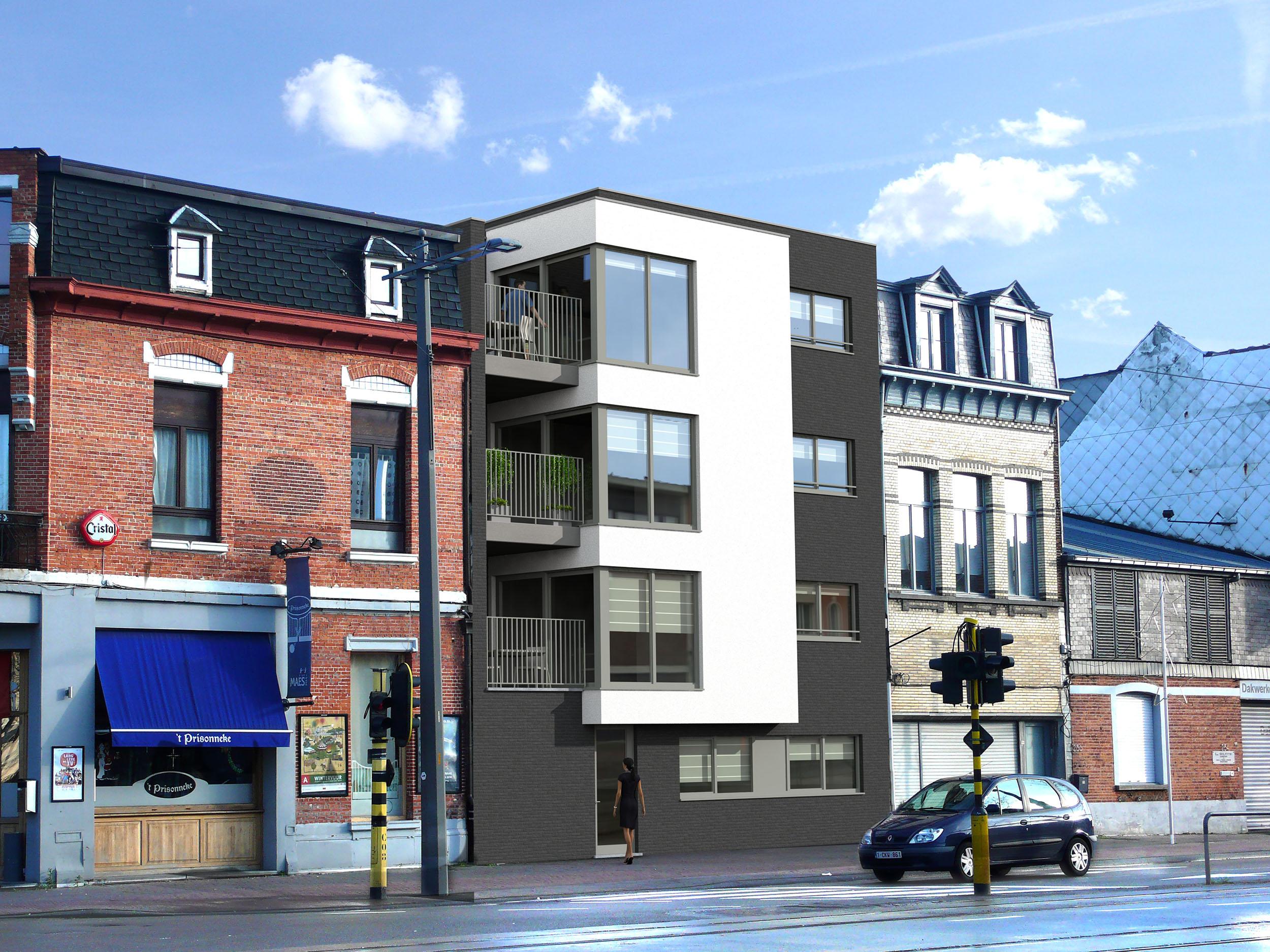 City-Life appartement te koop Mortsel De Grens Antwerpsestraat